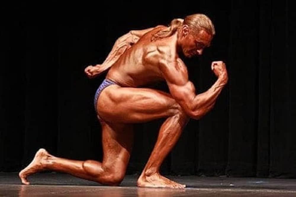 Robert Cheeke, vegan bodybuilder competition